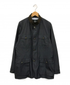 BROOKS BROTHERS(ブルックスブラザーズ)の古着「ジップアップジャケット」|ブラック