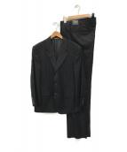 ()の古着「セットアップ3Bスーツ」|ブラック
