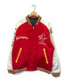 TED COMPANY(テッドカンパニー)の古着「リバーシブルスーベニアジャケット スカジャン」|レッド×ネイビー