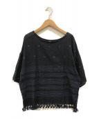 ()の古着「カディストール de Tシャツ」|ブラック