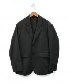 BEAMS(ビームス)の古着「メカニカル ウール 2ボタン ジャケット」 グレー
