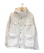 SIERRA DESIGNS(シエラデザインズ)の古着「ボアライナー付マウンテンパーカー」 ホワイト