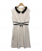 TOCCA(トッカ)の古着「HOLLY ドレス」|アイボリー