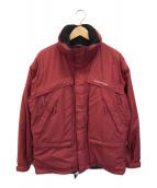()の古着「エクセロフト中綿ジャケット」 レッド