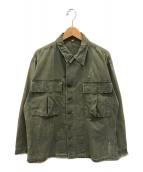 ()の古着「M-43 HBTジャケット」 オリーブ