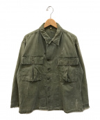 US ARMY()の古着「M-43 HBTジャケット」|オリーブ