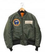BUZZ RICKSON'S(バズリクソンズ)の古着「MA-1 D-TYPE PEANUTS FLYERS」|オリーブ