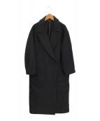 ()の古着「WIDE COAT 」|ブラック
