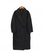 DEUXIEME CLASSE(ドゥーズィエム クラス)の古着「WIDE COAT」|ブラック