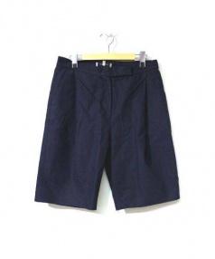 STUDIO NICHOLSON(スタジオニコルソン)の古着「Sachiko Shorts」|ネイビー