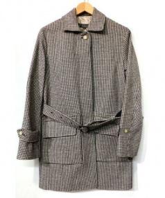 MACKINTOSH(マッキントッシュ)の古着「ウールベルテッドコート」|ブラウン