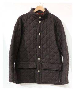 Traditional Weatherwear(トラディショナルウェザーウェア)の古着「BUTTONED BRECHIN」 ブラウン