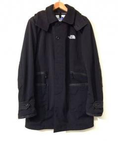 THE NORTH FACE(ザノースフェイス)の古着「フーデッドコート」|ブラック
