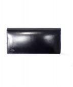 革蛸謹製(カワタコキンセイ)の古着「2つ折り長財布」|ネイビー