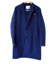 SABLE CLUTCH(セーブルクラッチ)の古着「CHESTERFILELD COAT」|ネイビー