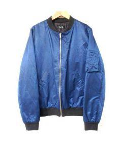 A.P.C(アーペーセー)の古着「ボンバーMA-1ジャケット」|ネイビー