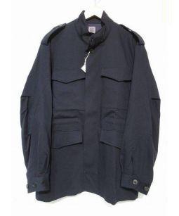 bestpack(ベストパック)の古着「ウールミリタリージャケット」|ネイビー