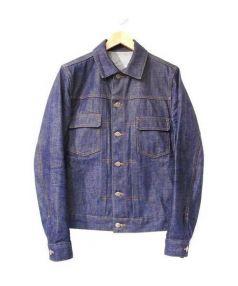 A.P.C(アーペーセー)の古着「2ndデニムジャケット」|インディゴ