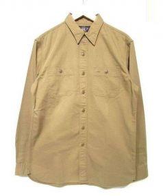 RRL(ダブルアールエル)の古着「ワークシャツ」|ベージュ