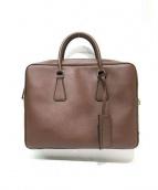 PRADA(プラダ)の古着「2WAYビジネスバッグ」|ブラウン