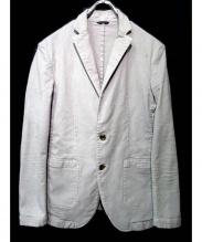 junhashimoto(ジュンハシモト)の古着「製品染めヘビーコットンテーラードジャケット」|グレー