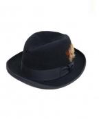 STETSON(ステットソン)の古着「フェルトハット」|ブラック
