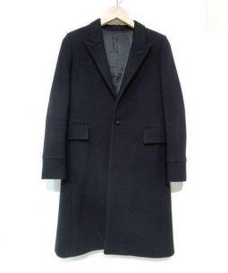 THE RERACS(ザ・リラクス)の古着「ウールチェスターコート」|ネイビー