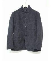 Engineered Garments(エンジニアードガーメンツ)の古着「ウールキルトリバーシブルジャケット」|ブラック