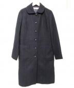 MACKINTOSH PHILOSPHY(マッキントッシュ フィロソフィー)の古着「メルトンシングルコート」|ブラック