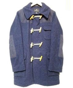 NIGEL CABOURN(ナイジェルケーボン)の古着「ダッフルコート」|ネイビー