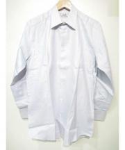 HERMES(エルメス)の古着「ドレスシャツ」|ホワイト×ブルー
