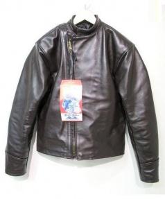 Langlitz Leathers(ラングリッツレザーズ)の古着「レザージャケット」|ブラウン