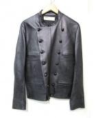 NAISSANCE(ネサーンス)の古着「ラムレザージャケット」|ブラック