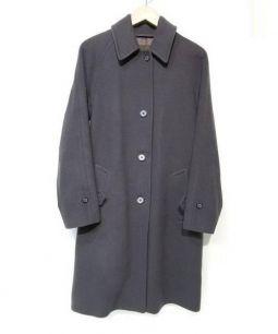 MACKINTOSH(マッキントッシュ)の古着「メルトンステンカラーコート」 グレー