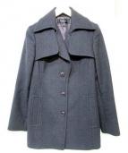 EPOCA(エポカ)の古着「ウールコート」|チャコールグレー