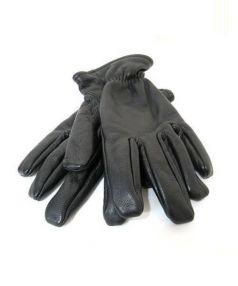 COMME des GARCONS HOMME(コムデギャルソンオム)の古着「カウハイドレザーグローブ」|ブラック