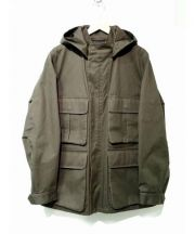 LEMAIRE(ルメール)の古着「高密度コットンミリタリージャケット」 オリーブ