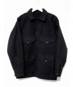 FILSON(フィルソン)の古着「シングルクルーザージャケット」|ブラック
