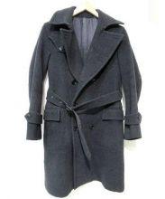Scye(サイ)の古着「ウールトレンチコート」|グレー
