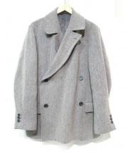 CABANE de ZUCCa(カバンドズッカ)の古着「ヘリンボーンツイードジャケット」|グレー
