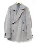 CABANE de ZUCCa(カバン・ドズッカ)の古着「ヘリンボーンツイードジャケット」 グレー