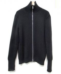 Andersen-Andersen(アンデルセンアンデルセン)の古着「ジップアップニット」|ブラック
