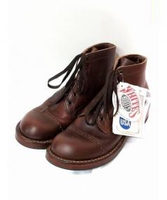 WHITES BOOTS(ホワイツブーツ)の古着「ホースハイドセミドレスブーツ」|ブラウン