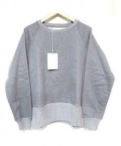 LOWLOOM(ロールーム)の古着「ルーズフィットスウェットシャツ」|グレー