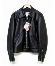 Lewis Leathers(ルイスレザー)の古着「コルセアライダースジャケット」|ブラック