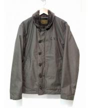 RADIALL(ラディアル)の古着「デッキジャケット」|グリーン