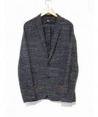 KOLOR(カラー)の古着「撚り杢ジャケット」|グレー