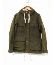 MAISON KITSUNE(メゾンキツネ)の古着「オイルドジャケット」 オリーブ