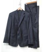 POLO RALPH LAUREN(ポロラルフローレン)の古着「ウールセットアップスーツ」|ネイビー
