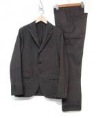 LARDINI(ラルディーニ)の古着「セットアップスーツ」|ブラウン